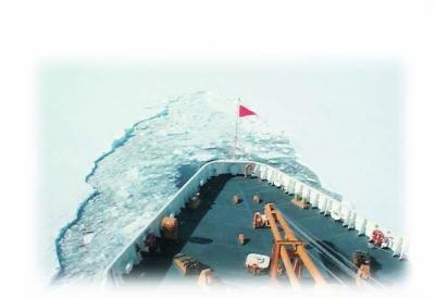破冰船的船体结构特别