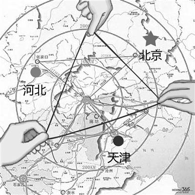 建成北京,天津,石家庄,唐山,秦皇岛5个全国性综合交通枢纽,加强干线