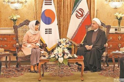 韩国总统朴槿惠5月4日