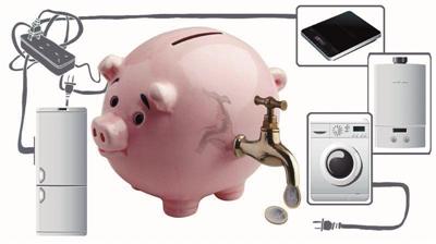 例如,工程师们在衣物烘干机里使用了全新的热泵系统,比原来少用了70