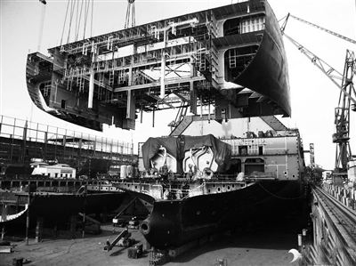 重新完成了规划设计图,建造以海工平台修造为主的拥有50万吨级船坞的