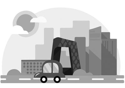 其次是停车位成本,由于共享汽车服务定位是一般性商务出行,因此网点
