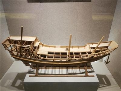 舟楫传奇里的福船